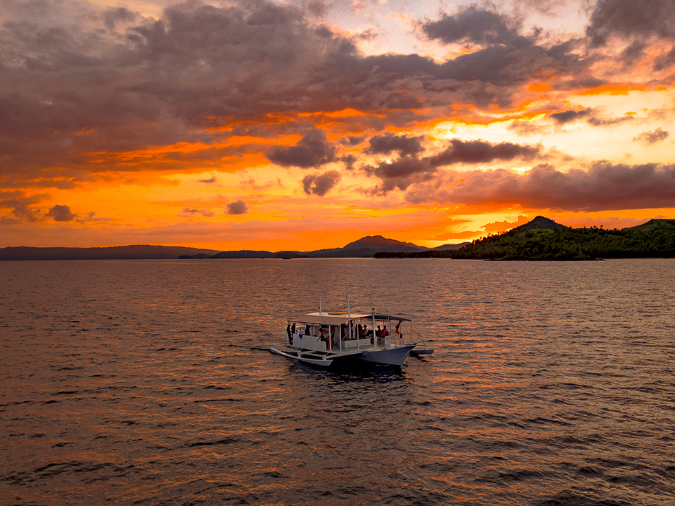 Lupita Siargao Sunset Boat Tour